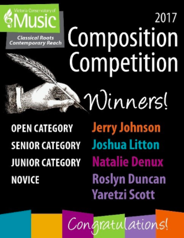 Composition Competition Winners 2017